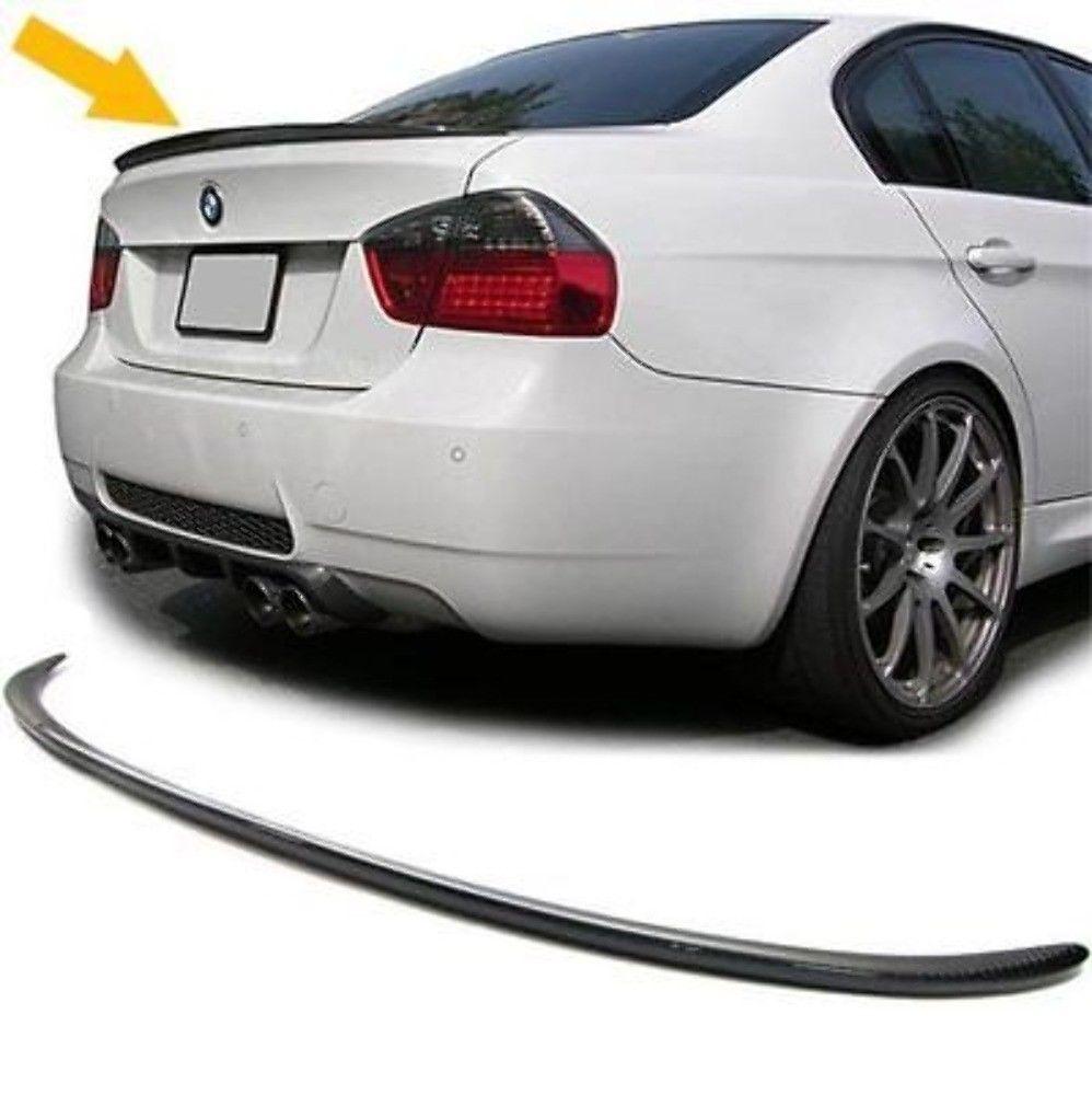 Heckspoiler Kohlefaser SpoilerLippe BMW E90 4D Sedan 330d