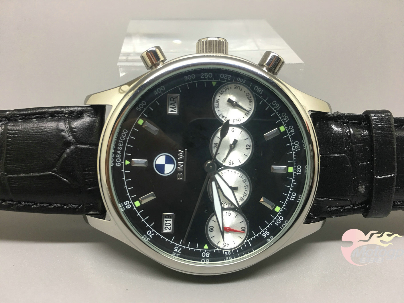 automatic mechanical leather watch sports for bmw 4. Black Bedroom Furniture Sets. Home Design Ideas